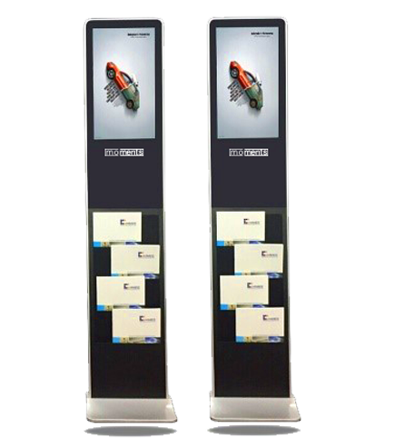 vertical advertising screens